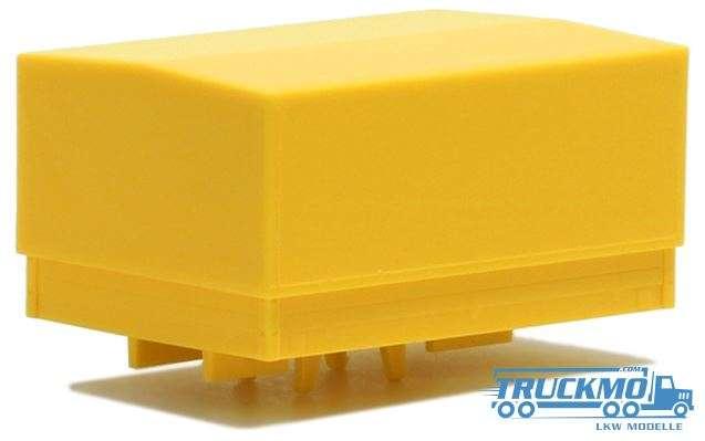 Herpa Ballastpritsche groß für Schwerlastzugmaschine gelb 692144