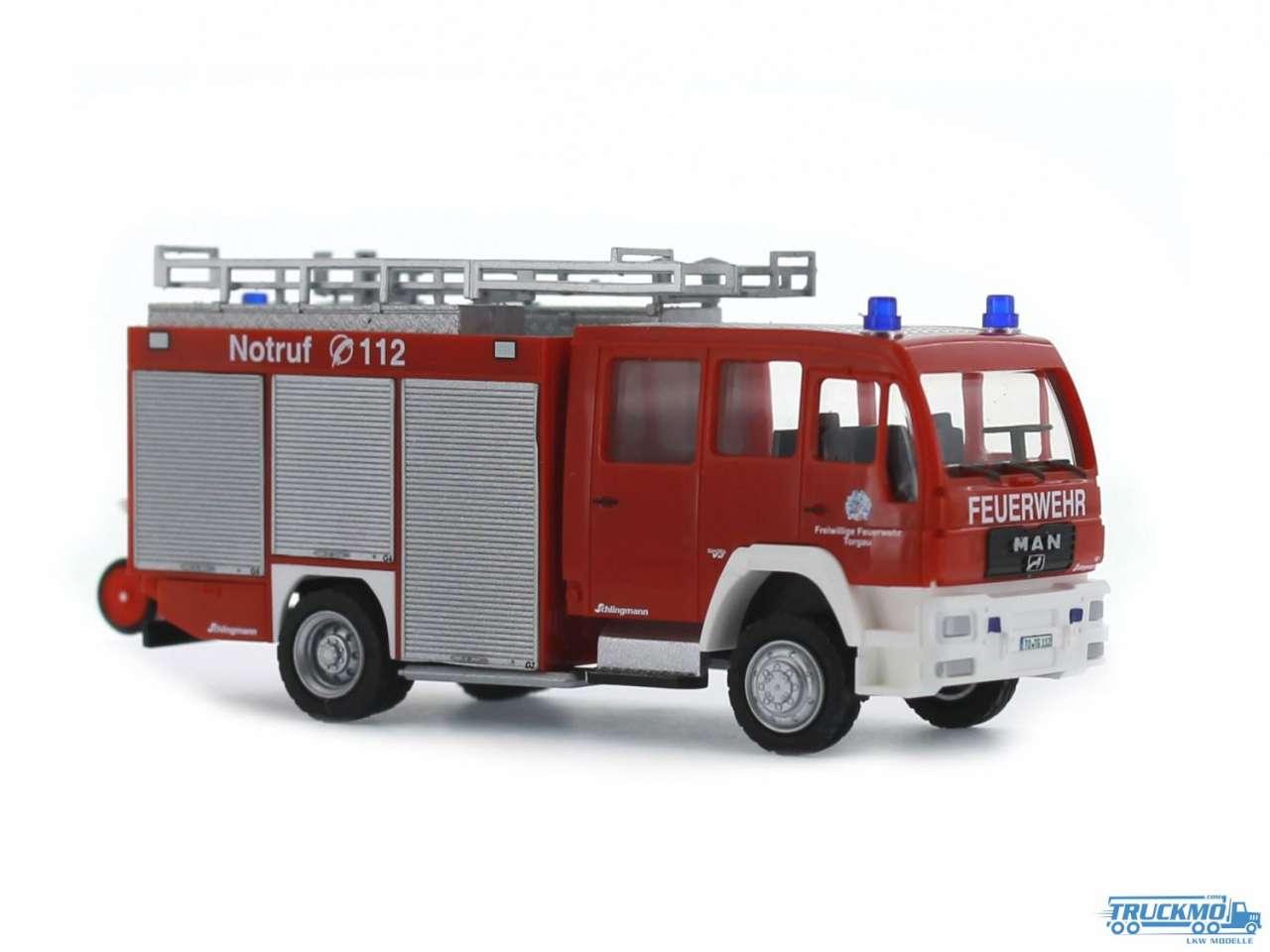 Rietze Feuerwehr Torgau MAN LF 16/12 Schlingmann 68250