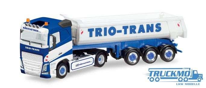 Herpa Trio-Trans Volvo FH Rundmulden-Sattelzug 308533