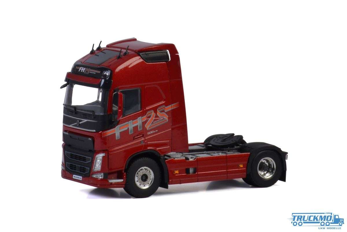 "WSI WSI Premium Line Volvo FH4 Globetrotter XL ""25 Years Edition"" (Red) 04-2068"