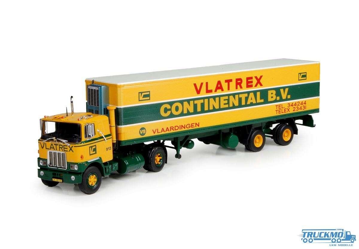 Tekno Vlatrex Mack F700 Kühlauflieger 71481