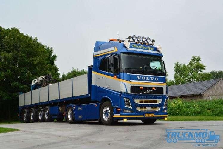 WSI Bolwijn Volvo FH4 Globetrotter Steinauflieger 01-3244
