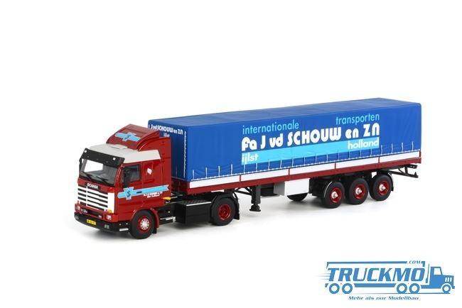 WSI J. v.d. Schouw Scania R113/R143 Streamline Classic Planenauflieger