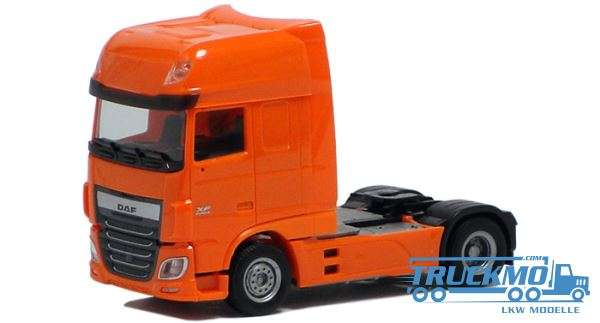 Herpa DAF XF Euro 6 SSC orange (TNT-farbig) 610366
