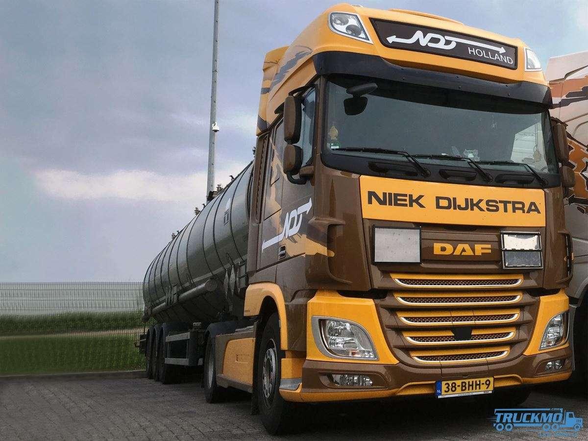 WSI Niek Dijkstra DAF XF Super Space Cab Tanktrailer 01-2891