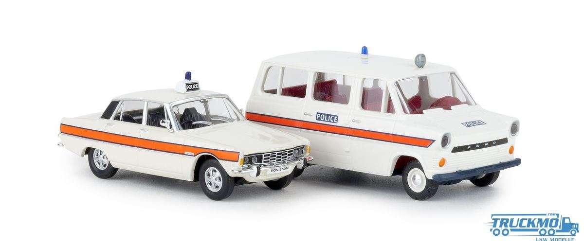 Brekina Ford Transit Rover Polizei England 90474