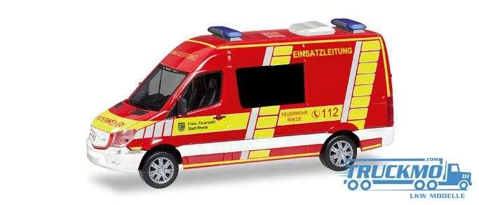 Herpa Feuerwehr Rhede Einsatzleitung Mercedes-Benz Sprinter Halbbus 093620