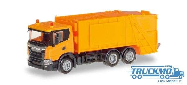 Herpa Scania CG 17 Garbage Truck 309837