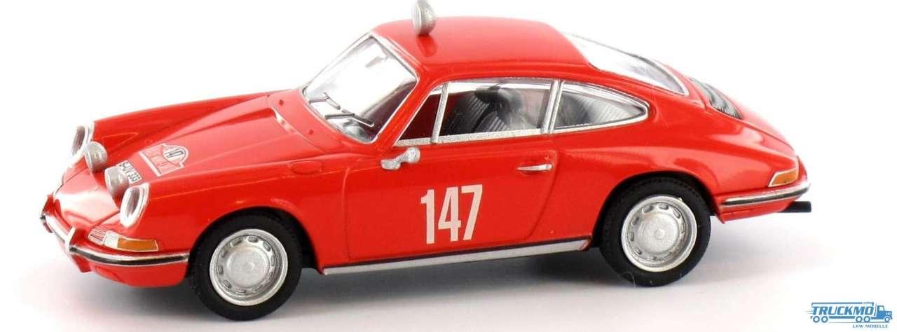 Brekina Rallye Monte Carlo 1965 Porsche 911 16219