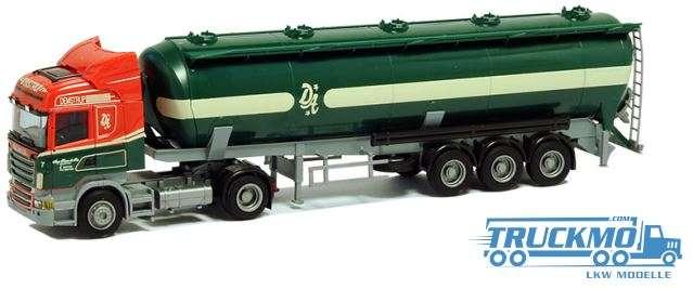 "AWM Demstrup LKW Scania ""09"" Highline/Aerop. - Kippsilo-SZ Modell"