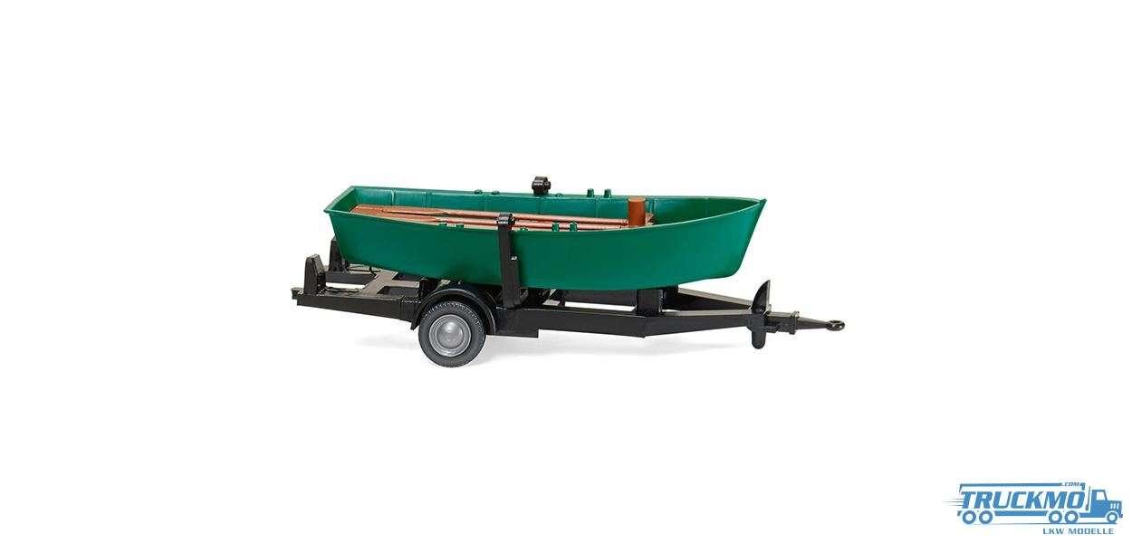 Wiking Ruderboot auf Anhänger 009401