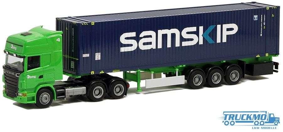 AWM Bring Scania R09 Topline Samskip 45ft Container 53650