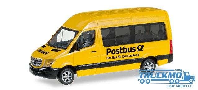 Herpa Postbus Mercedes-Benz Sprinter 2013 Bus Hochdach 092531