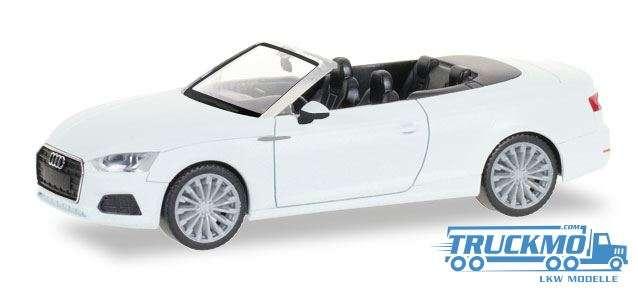 Herpa Audi A5 Cabrio ibisweiß 028769
