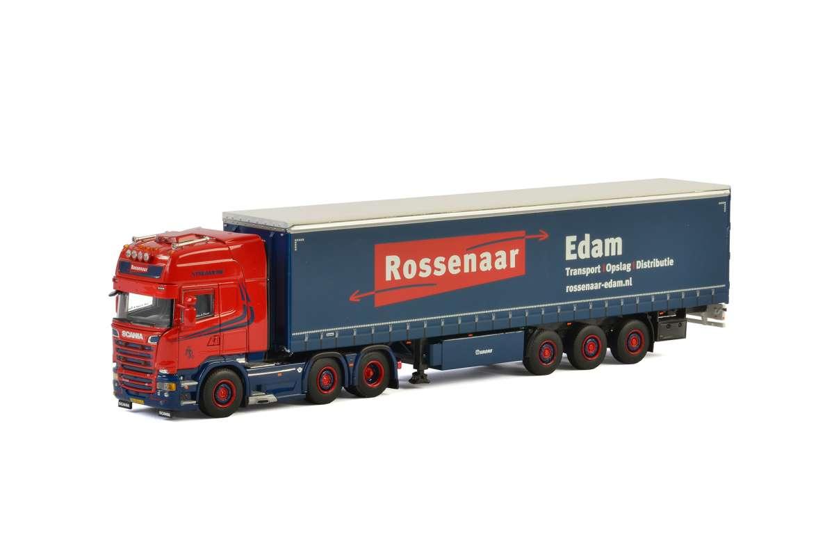 WSI Rossenaar Edam Scania R Streamline Topline Planenauflieger 01-2485