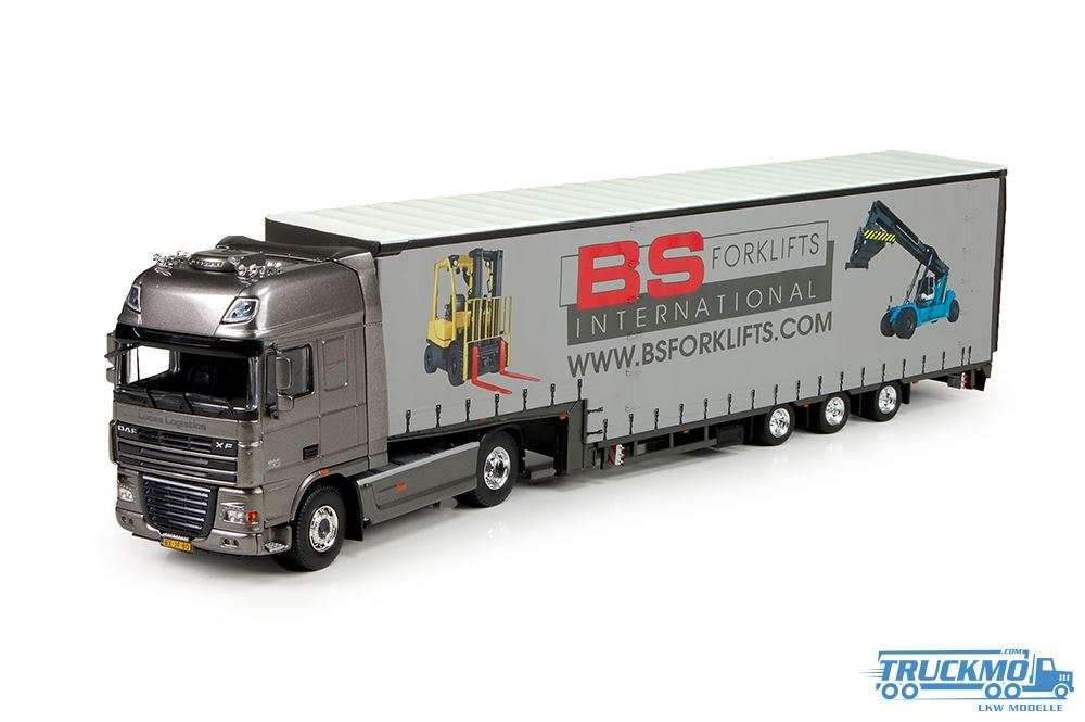 Tekno BS Forklifts DAF XF 105 Super Space Cab Meusburger 71753