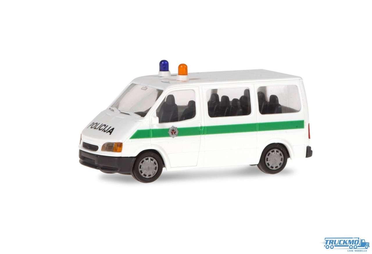 Rietze Policija Litauen Ford Transit 50549