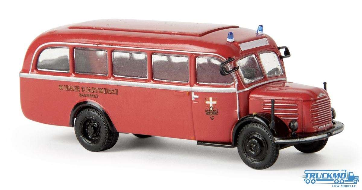 Brekina Stadtwerke Wien Steyr 380/II Werkstattwagen 58007
