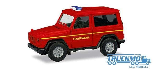 Herpa Feuerwehr Einsatzleitung Mercedes-Benz G-Modell 093170