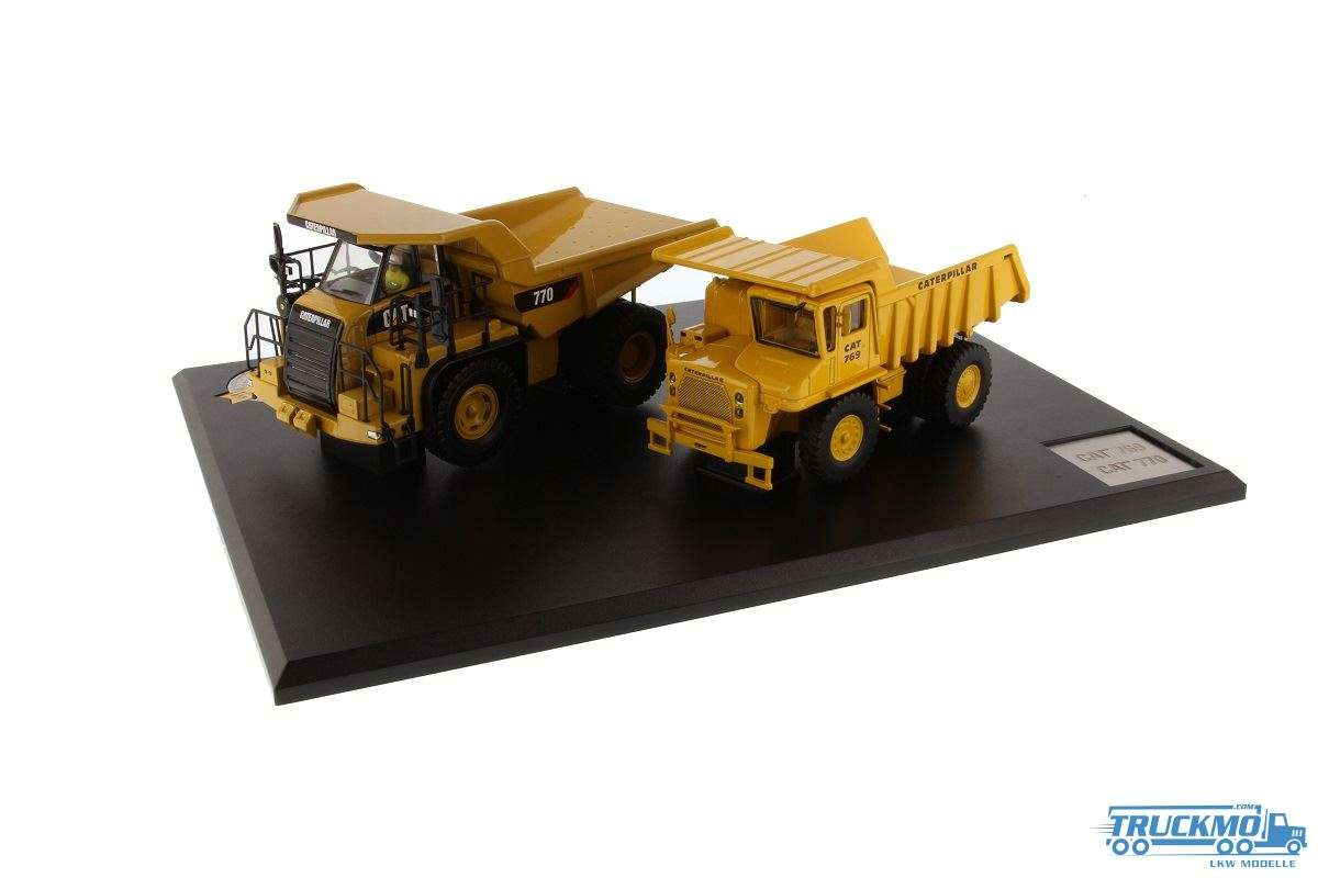 Diecast Masters Caterpillar Off Highway Evolution 769 & 770 85562