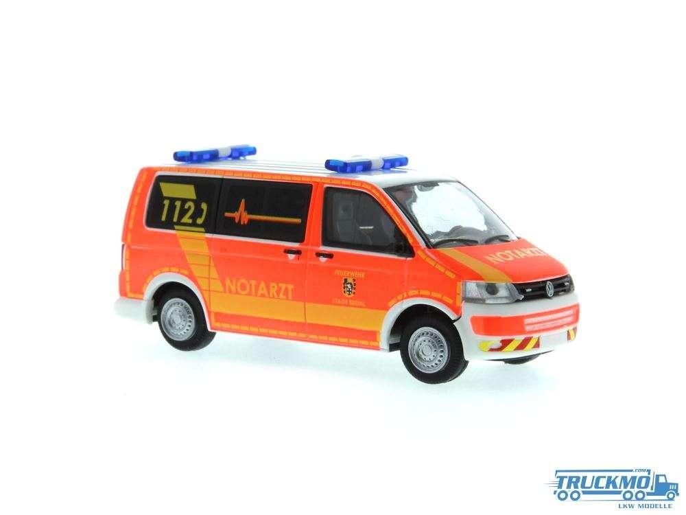 Rietze Feuerwehr Brühl Volkswagen T5 10 53412