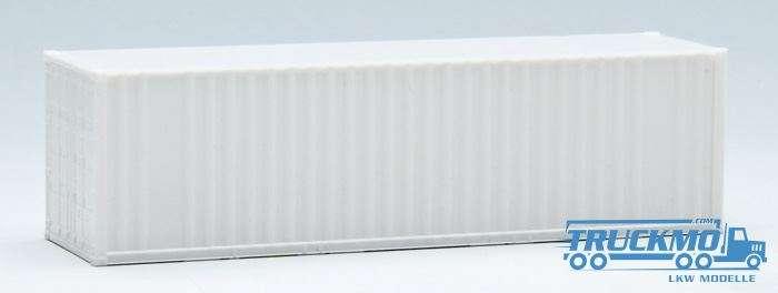 AWM 30ft. Container gerippt weiß 490210