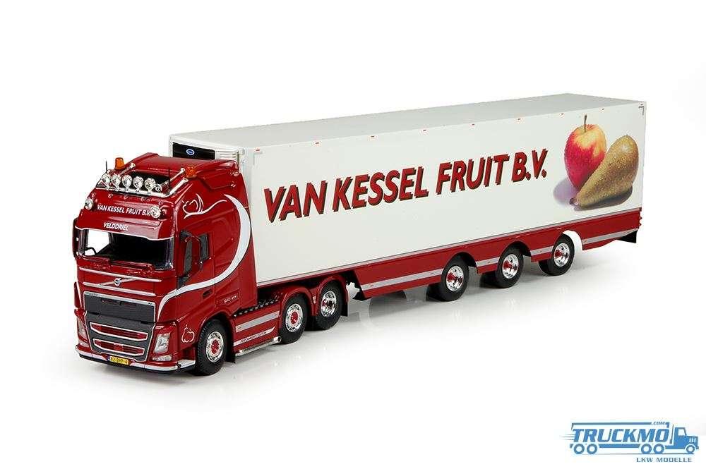 Tekno Van Kessel Volvo FH04 Globetrotter XL mit Kühlauflieger 71082