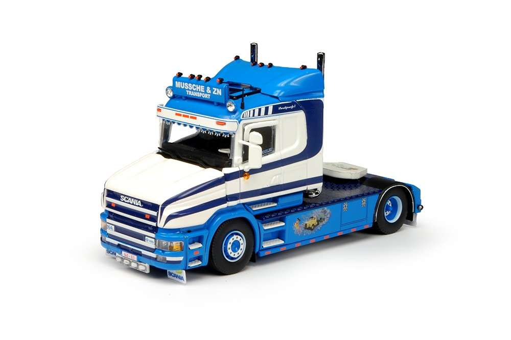 Tekno Peter Mussche Scania T4 LKW-Modell 69021