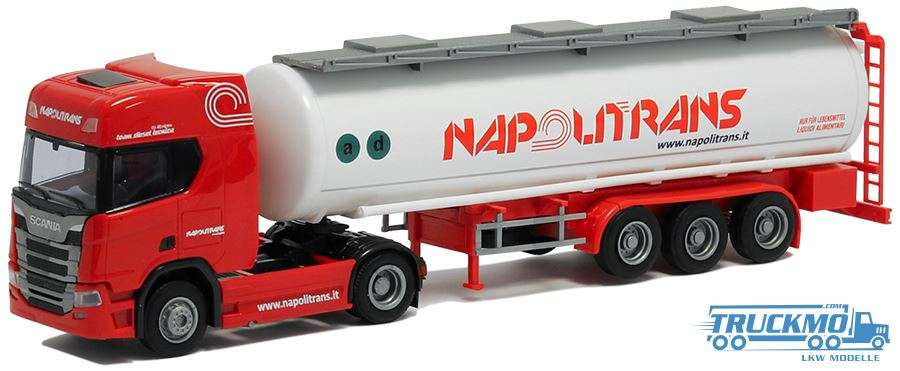 AWM Napolitrans Scania R Tankauflieger 9293.21