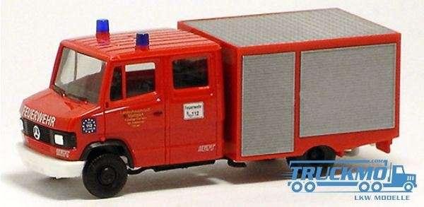 Herpa Feuerwehr Sommerrain Mercedes Benz T2 TSF-W