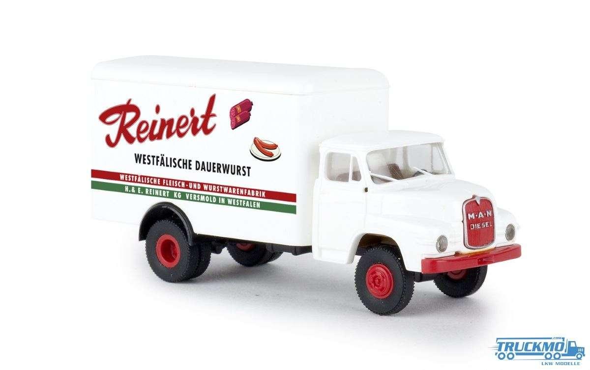 Brekina Reinert Wurst MAN 635 Koffer 45043