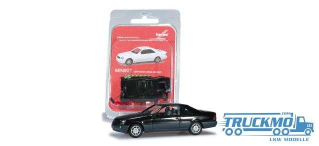 Herpa MiniKit Mercedes-Benz 600 SEC schwarz 012676-002