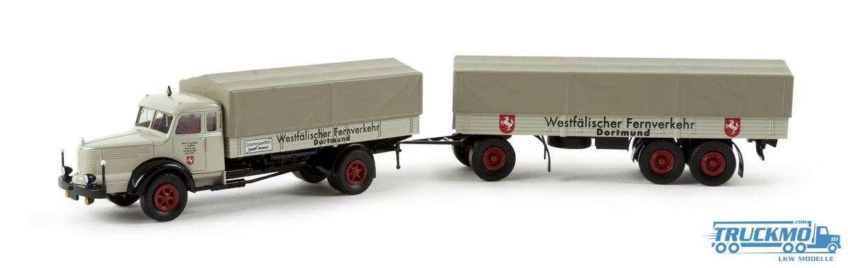 Brekina Westfälischer Fernverkehr Krupp Titan PP-Zug 86013