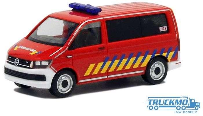 Herpa Brandweer Belgien VW T6 930963