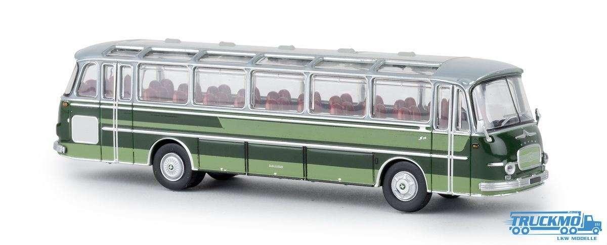 Brekina Setra S 12 grau grün 58209