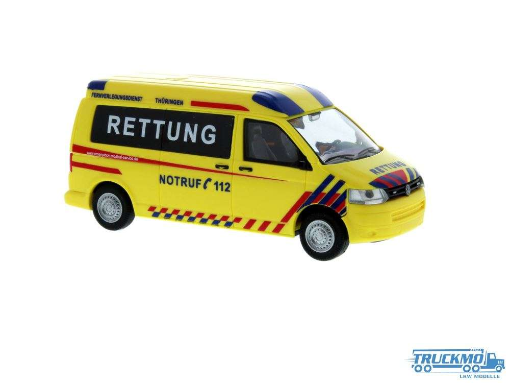 Rietze Emergency Medical Service Thüringen Volkswagen T5 GP 53622