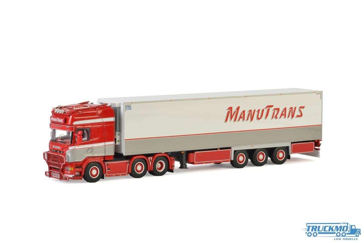 WSI Manutrans SCANIA R Topline Kühlauflieger Carrier (3 Achs) 01-2424