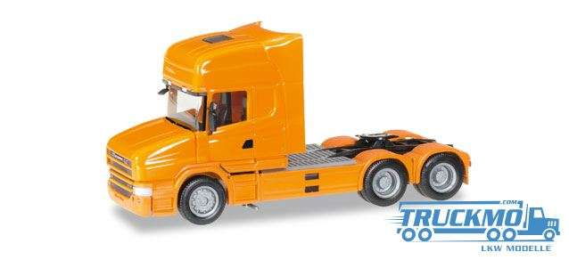 Herpa Scania Hauber Topline Zugmaschine orange 151726-006