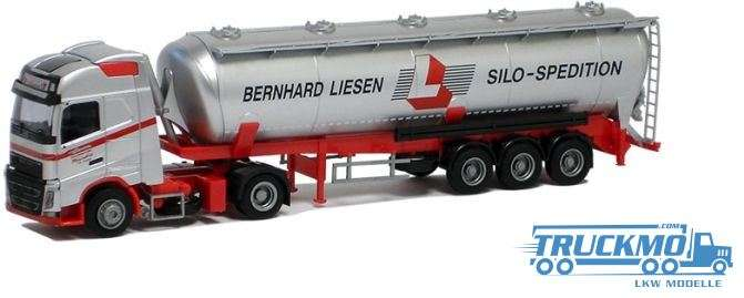 AWM Liesen Volvo 12 XL Aerop. Kippsilo Sattelzug LKW-Modell