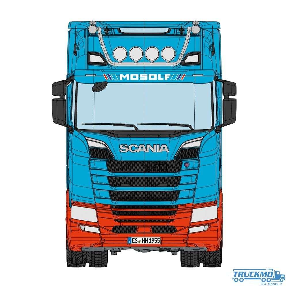 NZG MOSOLF Scania 730S Lohr Autotransporter 1026/01