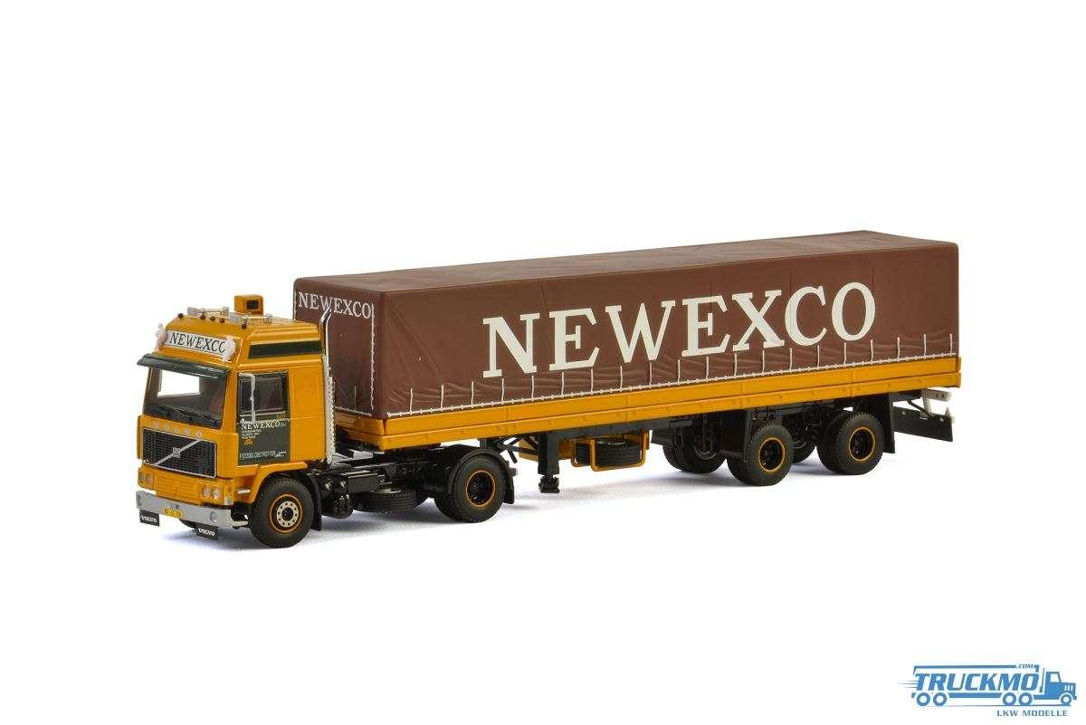 WSI Newexco Volvo F12 Planenauflieger (3 Achs) 01-2351