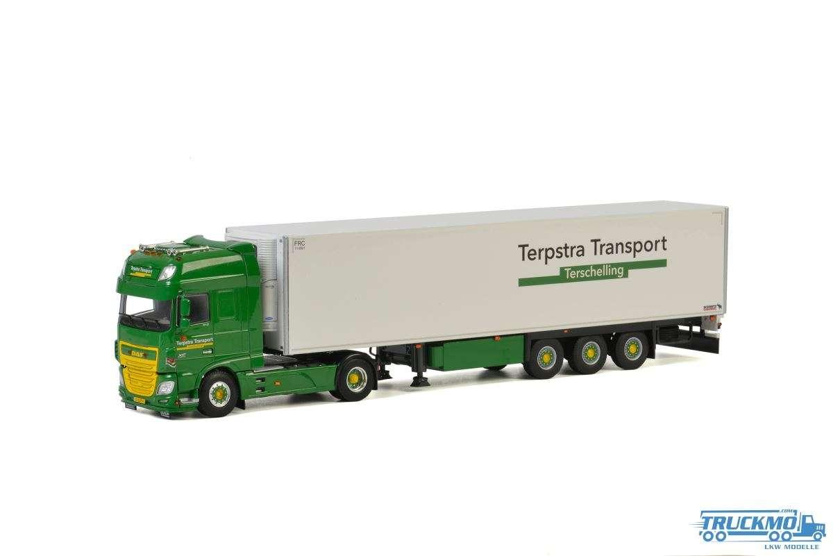 WSI Terpstra Transport DAF XF Super Space Cab Kühlauflieger 3 Achs 01-2813