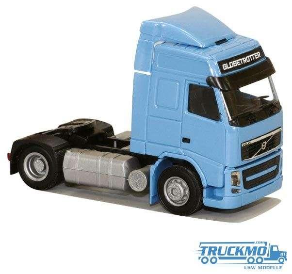 AWM Volvo 08 FH Globetrotter Aerop blau 8329.01