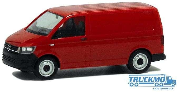 Herpa VW T6 Kombi kirschrot 028721
