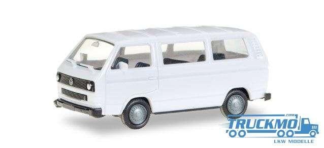 Herpa VW T3 Bus weiß 093156