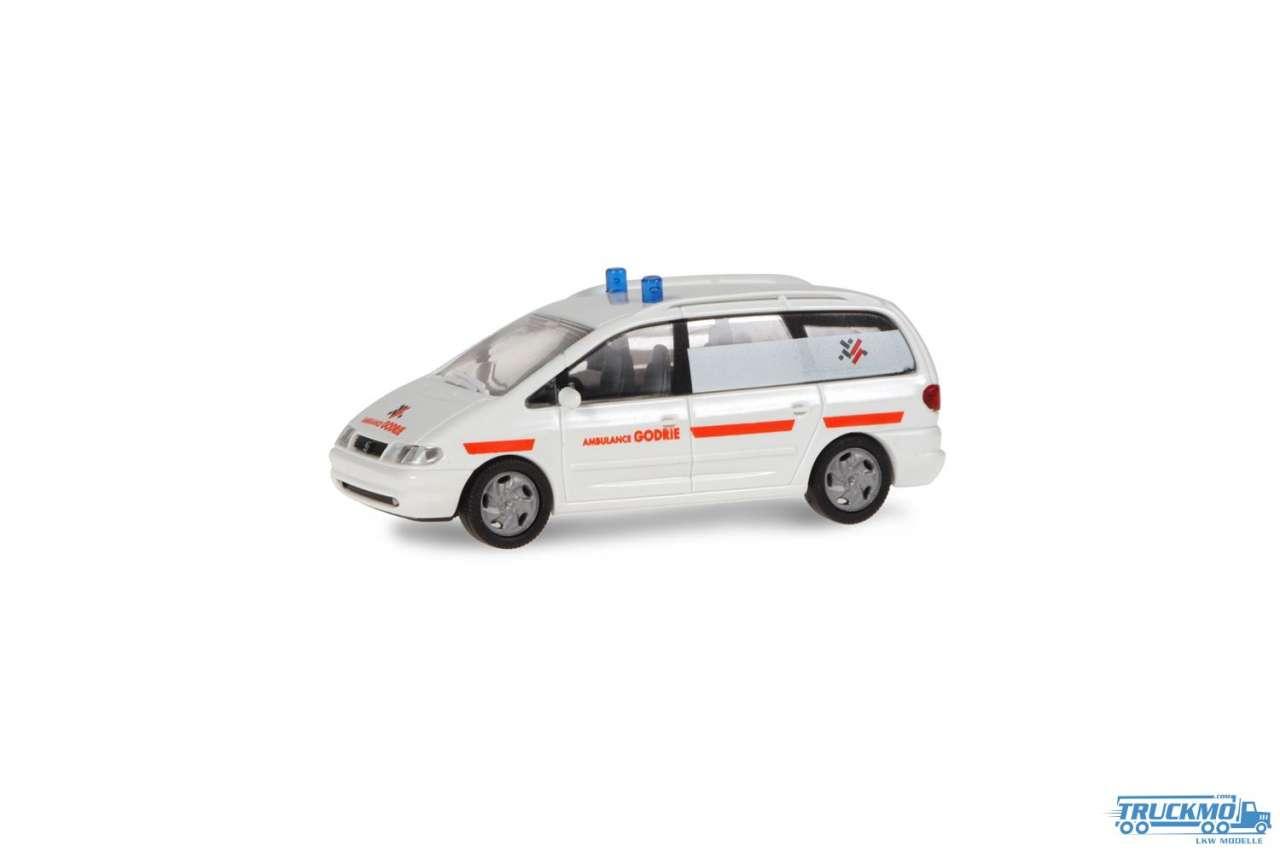 Rietze Ambulance Godrie Seat Alhambra 50810