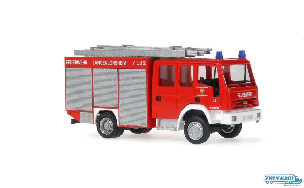 Rietze Feuerwehr Langenlonsheim Iveco Eurofire 60689