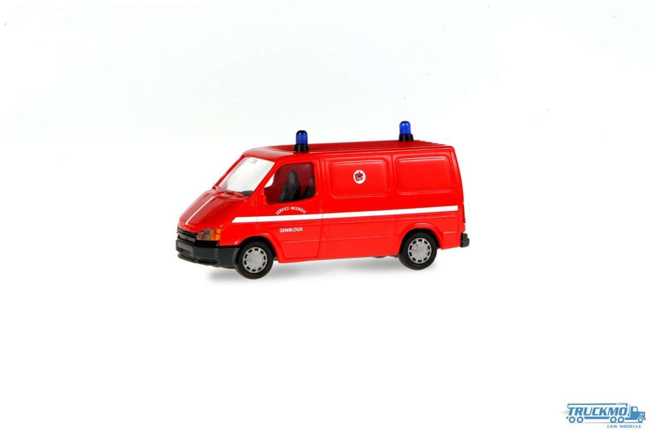 Rietze Feuerwehr Gembloux Ford Transit 50699