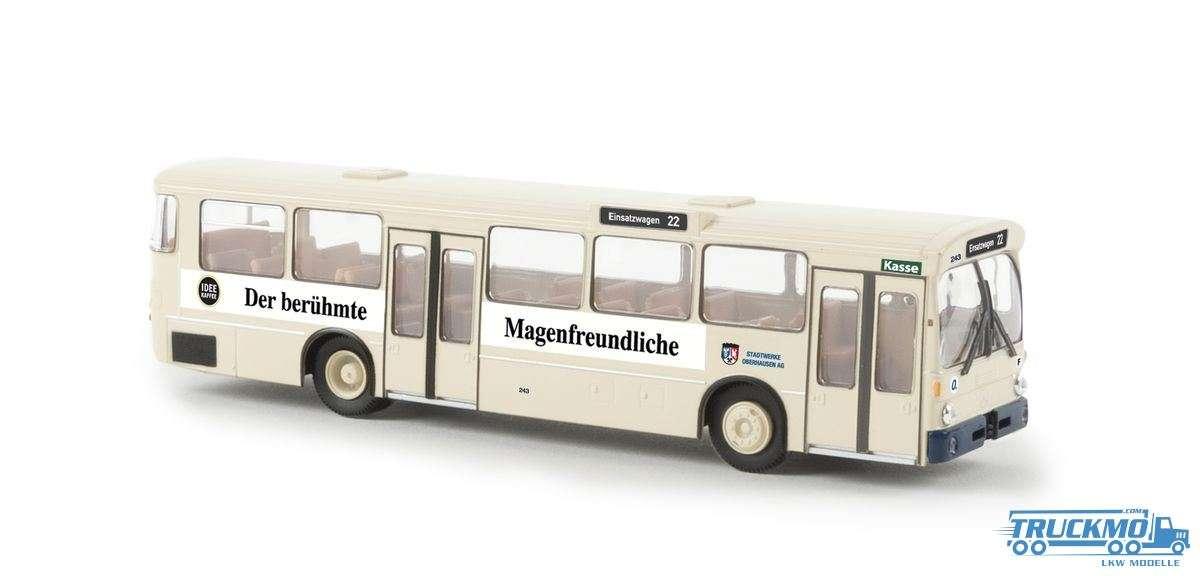 Brekina Idee Kaffee aus Oberhausen Mercedes Benz O 305 Stadtbus 50749