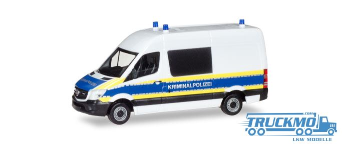 herpa kriminalpolizei mercedes benz sprinter 929806. Black Bedroom Furniture Sets. Home Design Ideas
